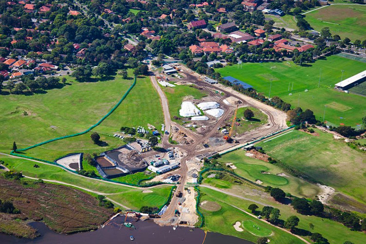 Astrolabe Park Stormwater Renewal