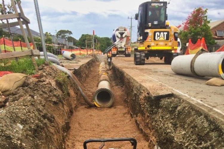 Brompton Road  Bellambi Stormwater Replacement Project