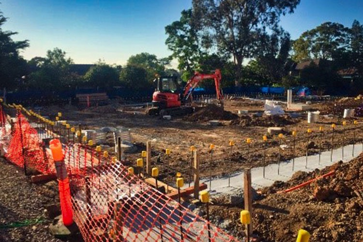 Denistone East Public School Piling and Earthworks