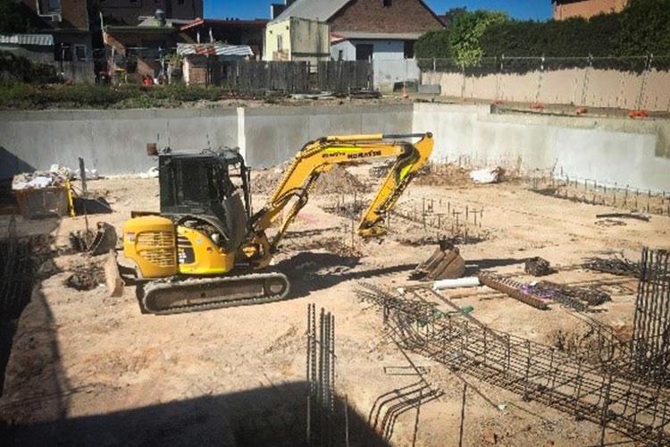 Mortdale Demolition Shoring and Basement Excavation Works