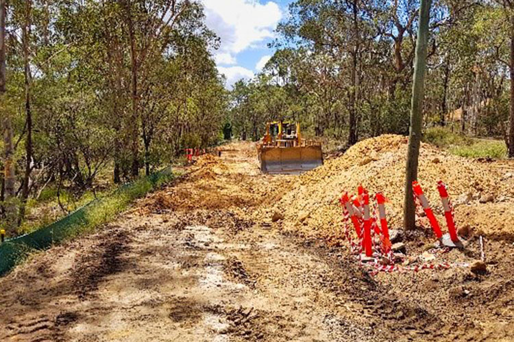 Nelson Road Upgrade Works